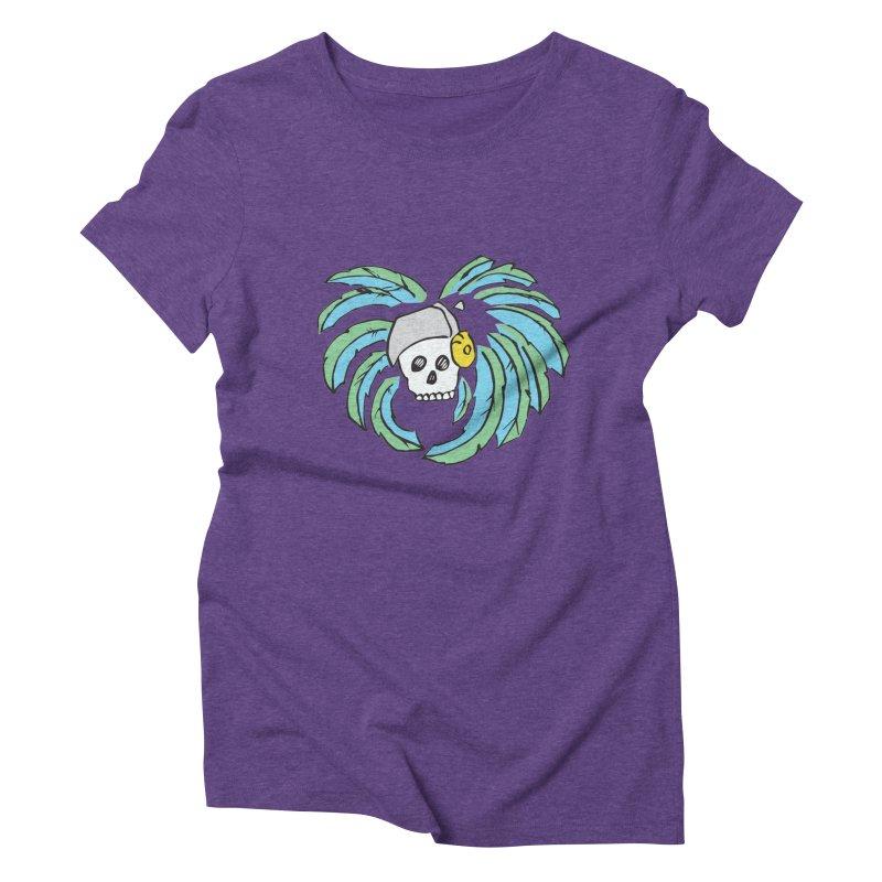 Heart of an Aztec Women's Triblend T-Shirt by Castaneda Designs