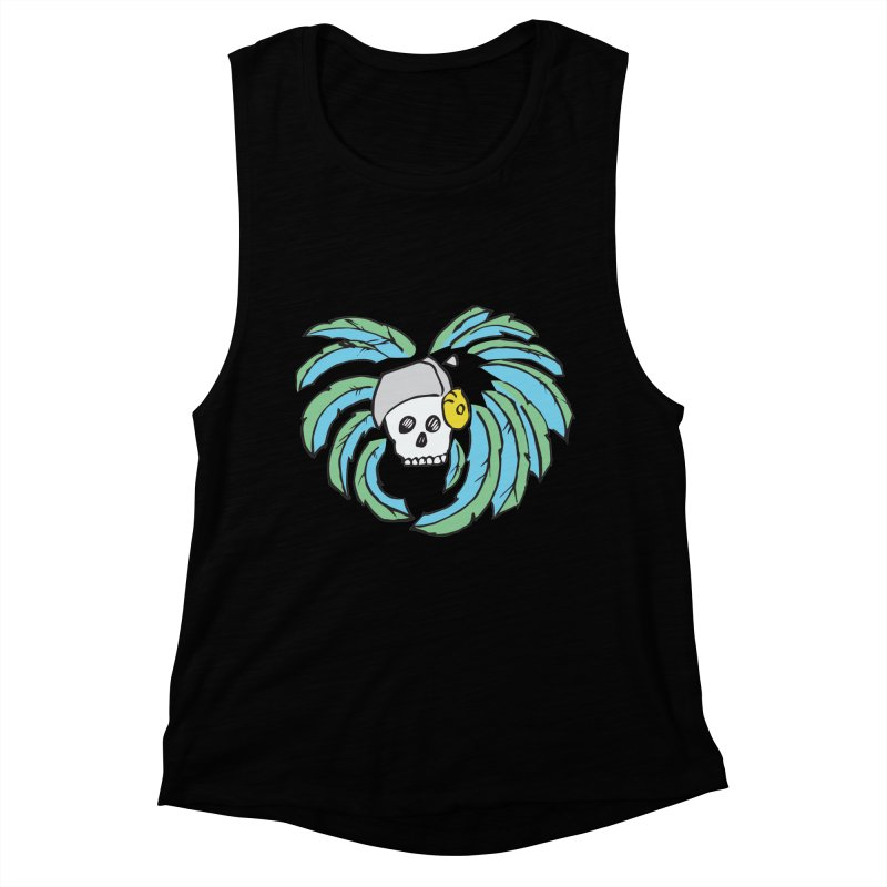 Heart of an Aztec Women's Muscle Tank by Castaneda Designs