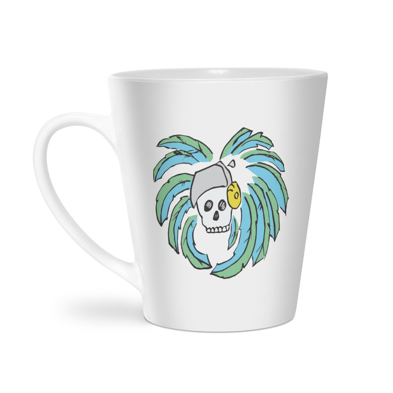 Heart of an Aztec Accessories Latte Mug by Castaneda Designs