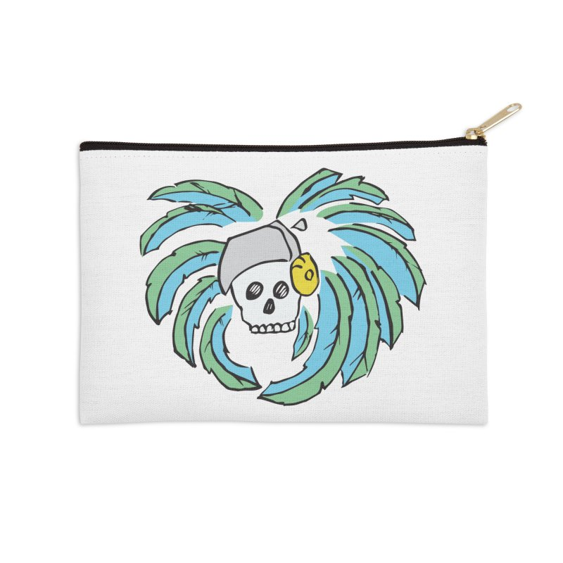 Heart of an Aztec Accessories Zip Pouch by Castaneda Designs