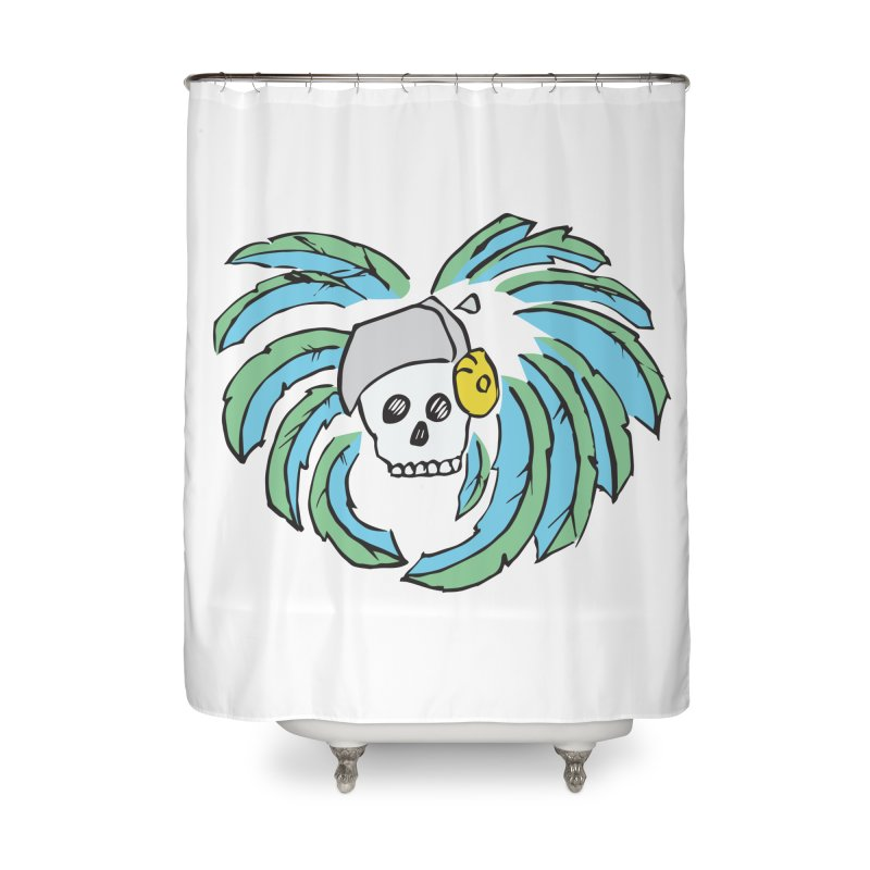 Heart of an Aztec Home Shower Curtain by Castaneda Designs