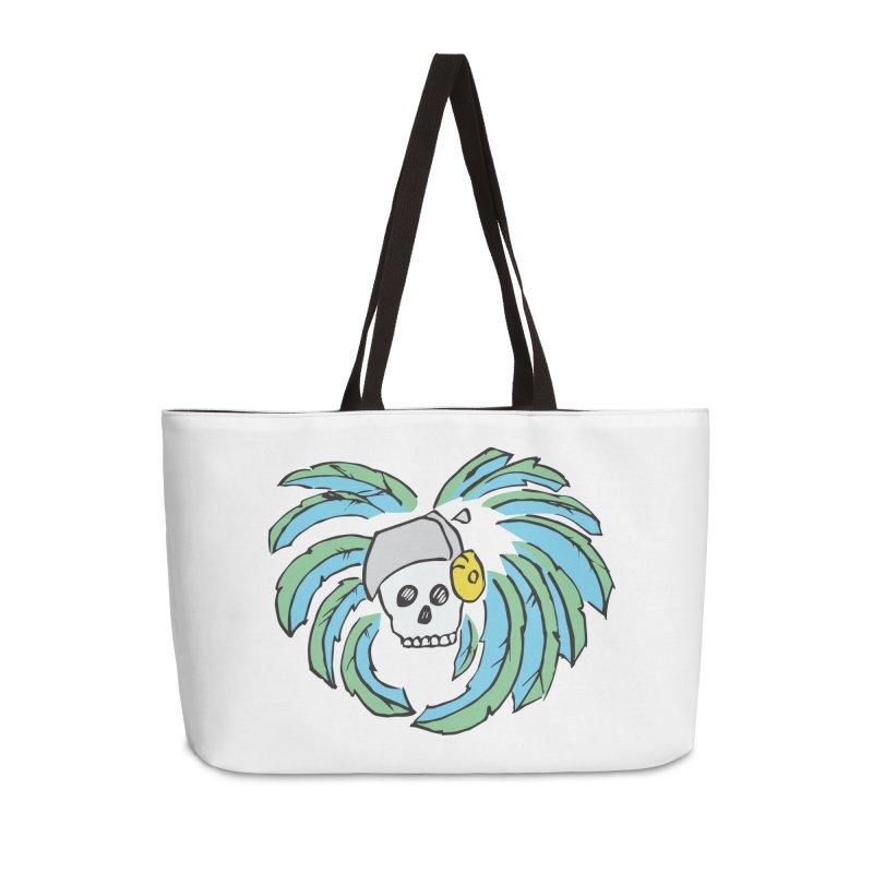 Heart of an Aztec Accessories Weekender Bag Bag by Castaneda Designs
