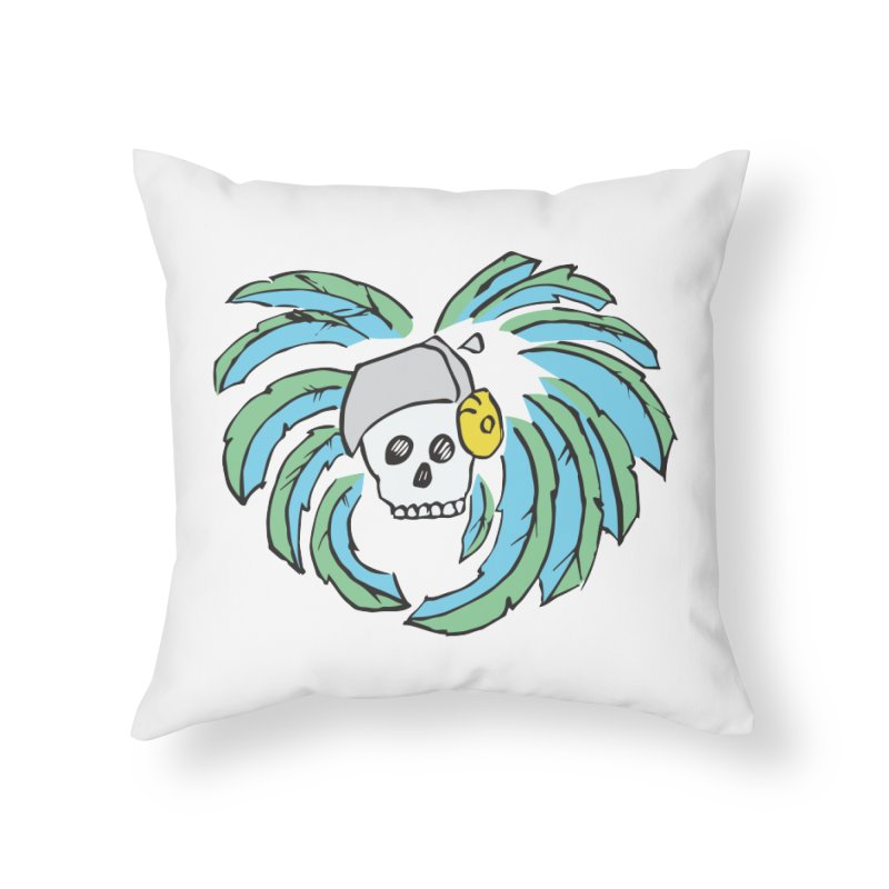 Heart of an Aztec Home Throw Pillow by Castaneda Designs