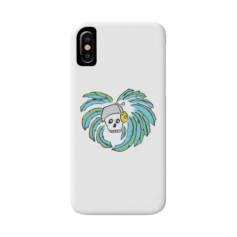 Heart of an Aztec Accessories Phone Case by Castaneda Designs