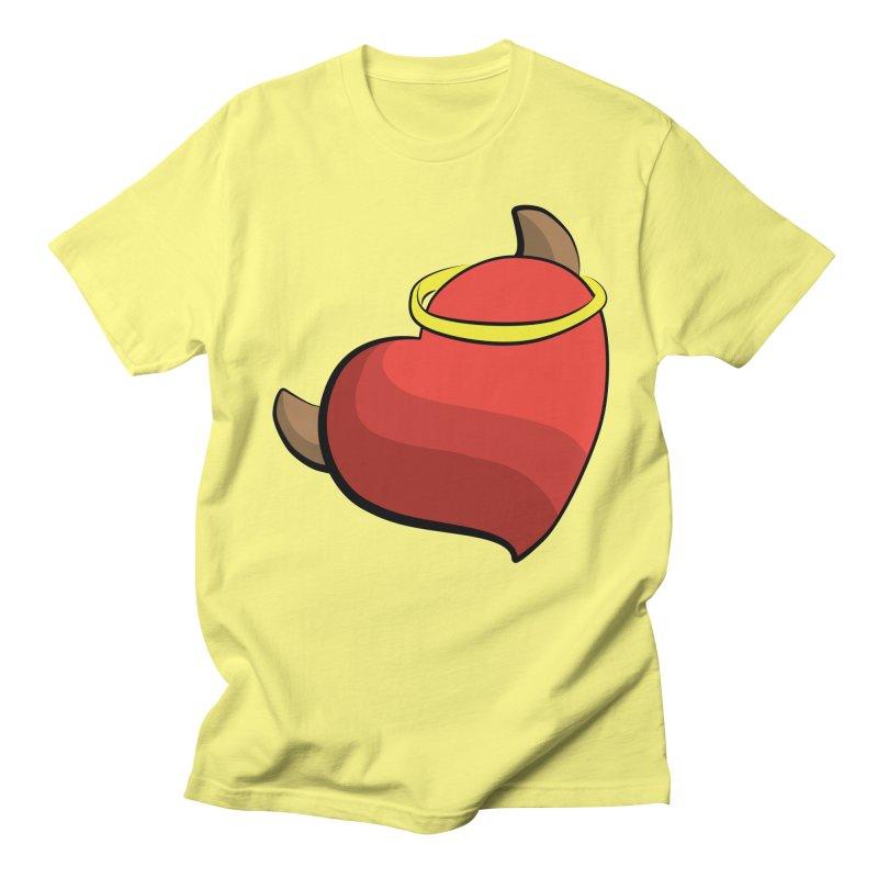 Evil love Men's T-Shirt by Castaneda Designs