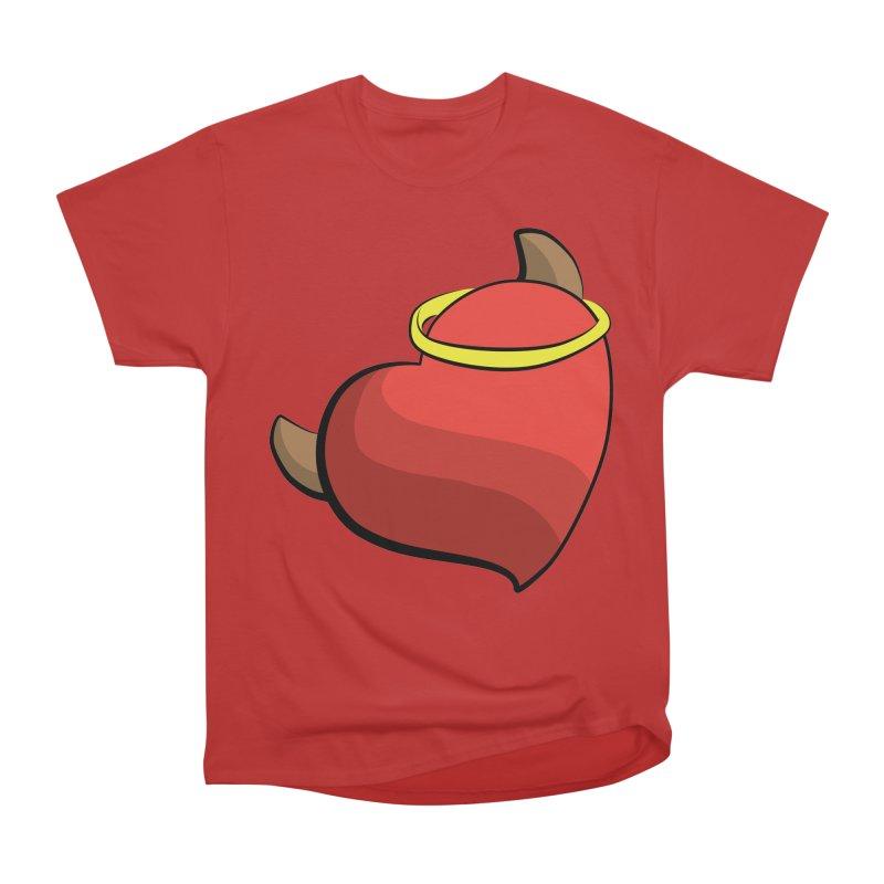 Evil love Women's Heavyweight Unisex T-Shirt by Castaneda Designs
