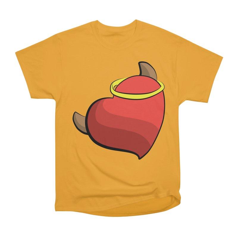 Evil love Men's Heavyweight T-Shirt by Castaneda Designs