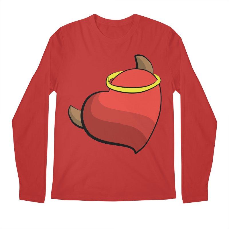 Evil love Men's Regular Longsleeve T-Shirt by Castaneda Designs