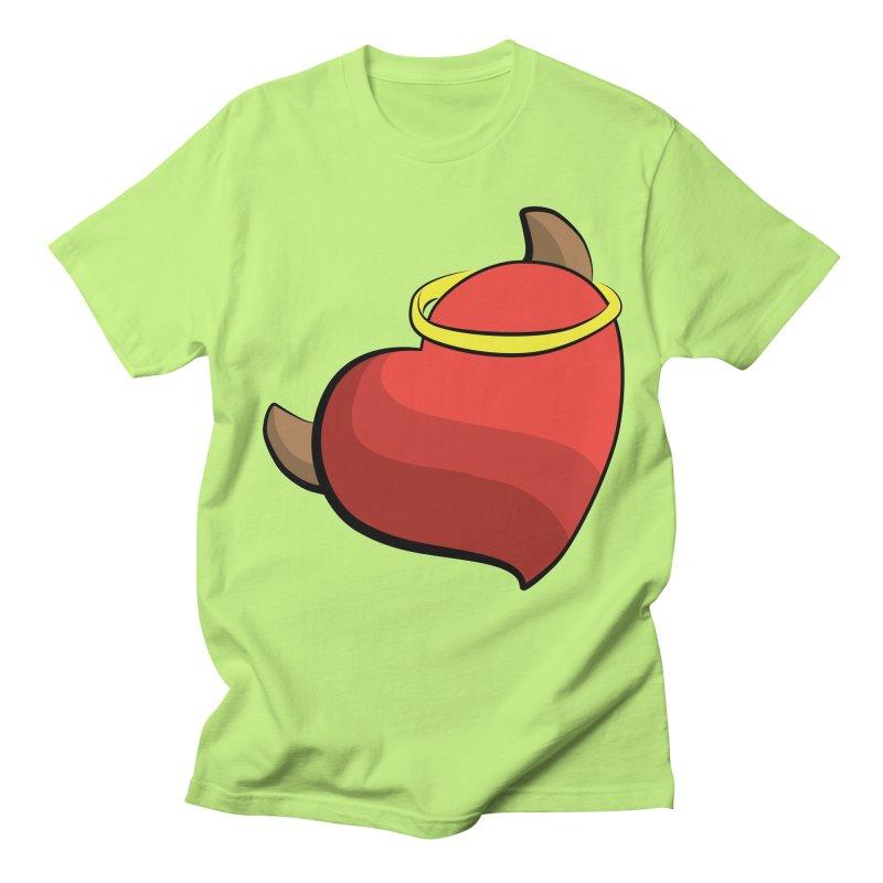 Evil love Men's Regular T-Shirt by Castaneda Designs