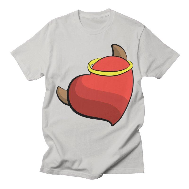 Evil love Women's Regular Unisex T-Shirt by Castaneda Designs