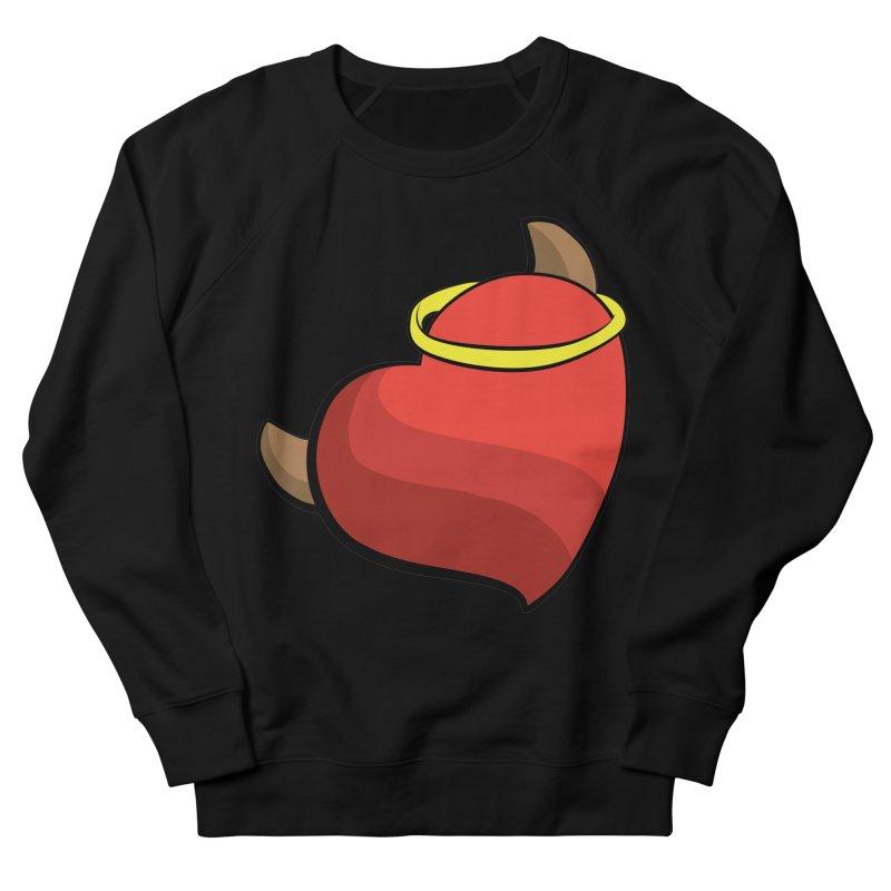 Evil love Women's French Terry Sweatshirt by Castaneda Designs