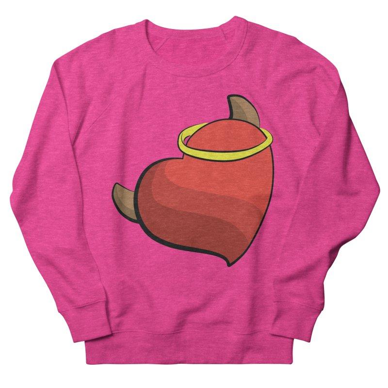 Evil love Men's French Terry Sweatshirt by Castaneda Designs