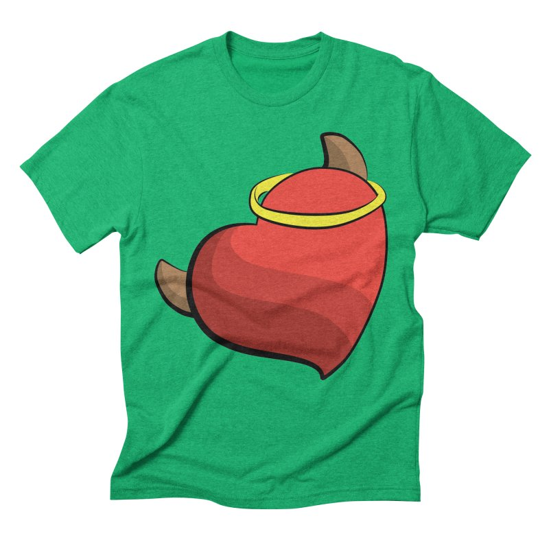 Evil love Men's Triblend T-Shirt by Castaneda Designs