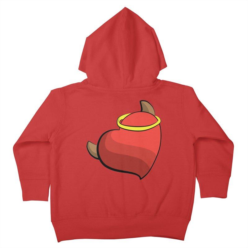 Evil love Kids Toddler Zip-Up Hoody by Castaneda Designs