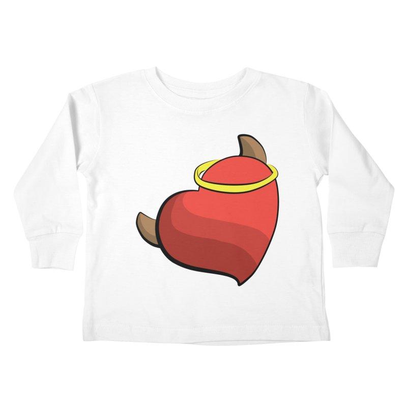 Evil love Kids Toddler Longsleeve T-Shirt by Castaneda Designs