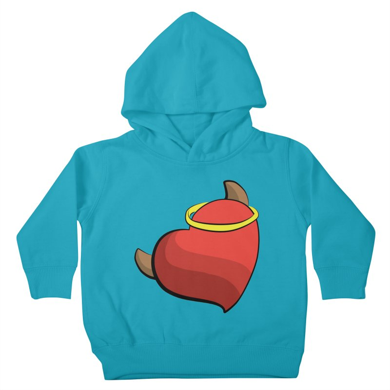Evil love Kids Toddler Pullover Hoody by Castaneda Designs