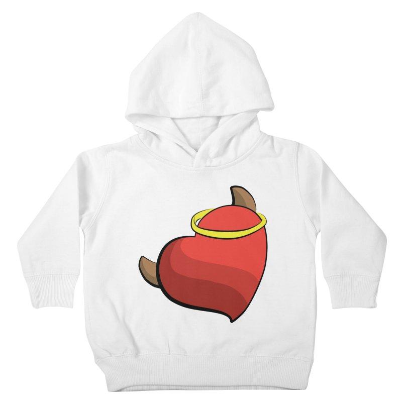 Evil love Kids Toddler Pullover Hoody by Castaneda Designs