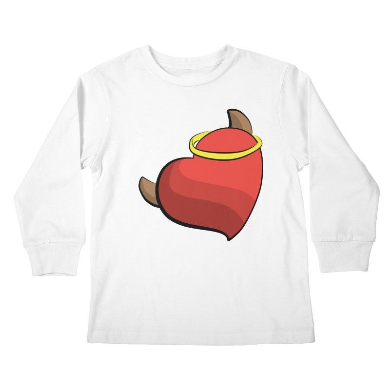 Evil love Kids Longsleeve T-Shirt by Castaneda Designs
