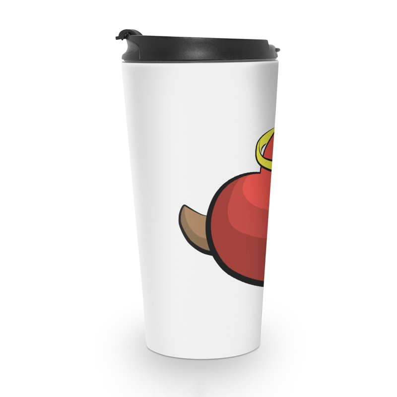 Evil love Accessories Travel Mug by Castaneda Designs