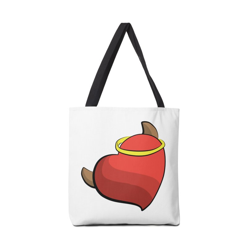 Evil love Accessories Tote Bag Bag by Castaneda Designs