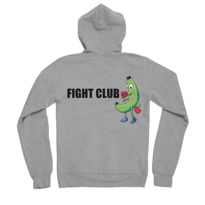 Fruit Fight Men's Sponge Fleece Zip-Up Hoody by Castaneda Designs