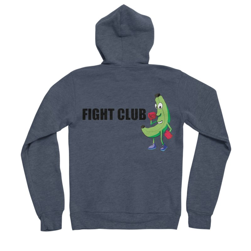 Fruit Fight Men's Sponge Fleece Zip-Up Hoody by Castaneda Designs