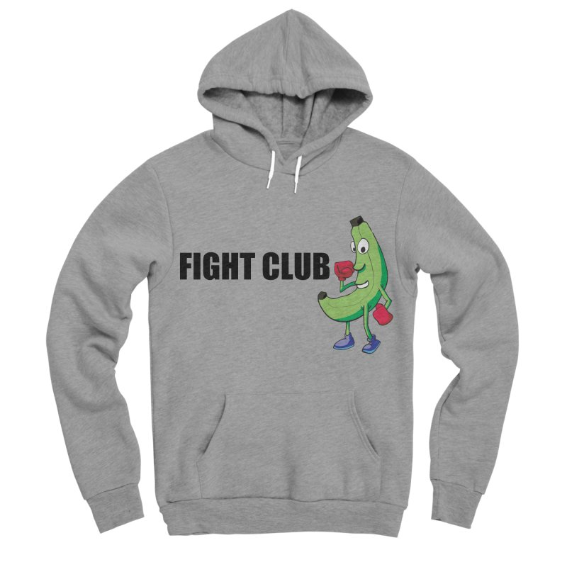 Fruit Fight Men's Sponge Fleece Pullover Hoody by Castaneda Designs