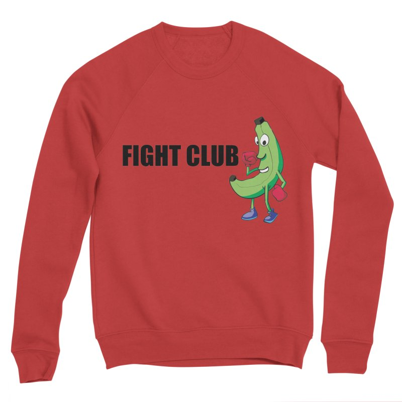 Fruit Fight Men's Sponge Fleece Sweatshirt by Castaneda Designs