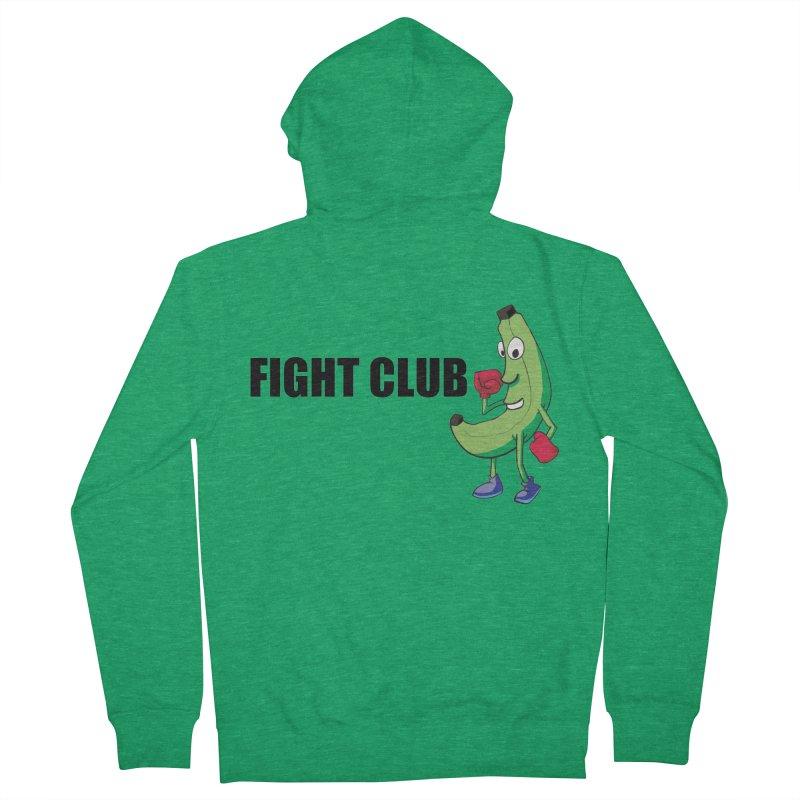 Fruit Fight Men's Zip-Up Hoody by Castaneda Designs