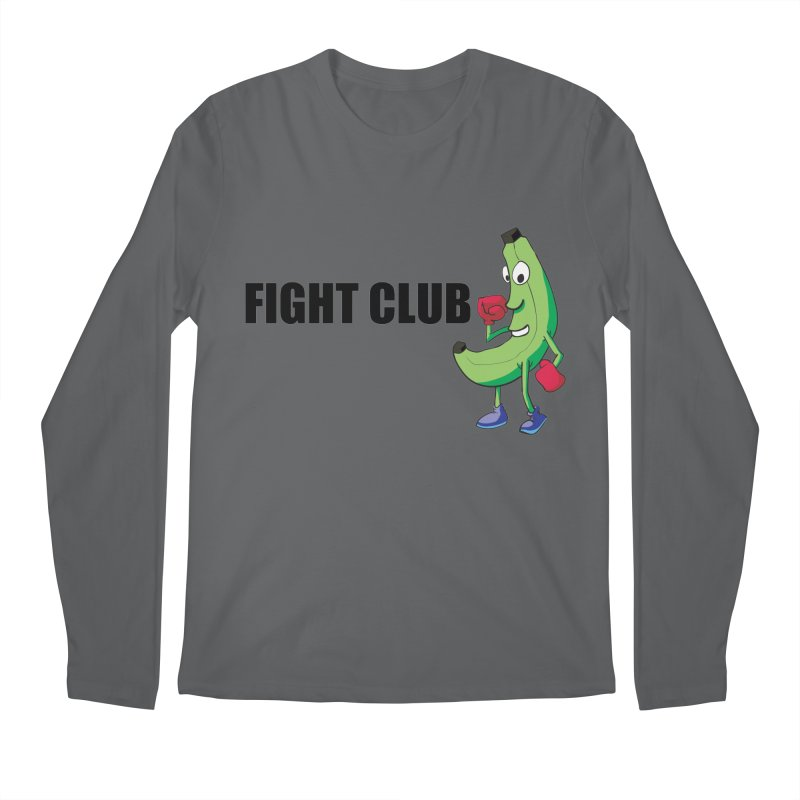Fruit Fight Men's Longsleeve T-Shirt by Castaneda Designs