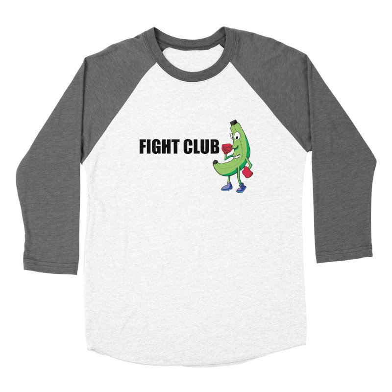Fruit Fight Men's Baseball Triblend Longsleeve T-Shirt by Castaneda Designs