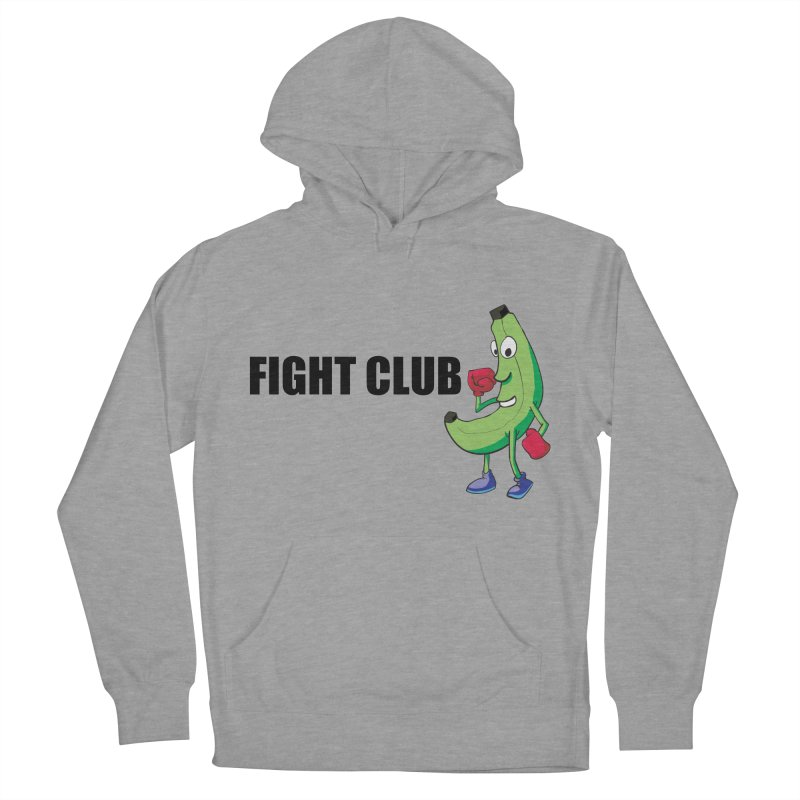Fruit Fight Men's French Terry Pullover Hoody by Castaneda Designs