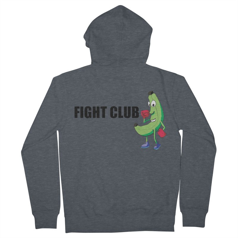Fruit Fight Women's French Terry Zip-Up Hoody by Castaneda Designs
