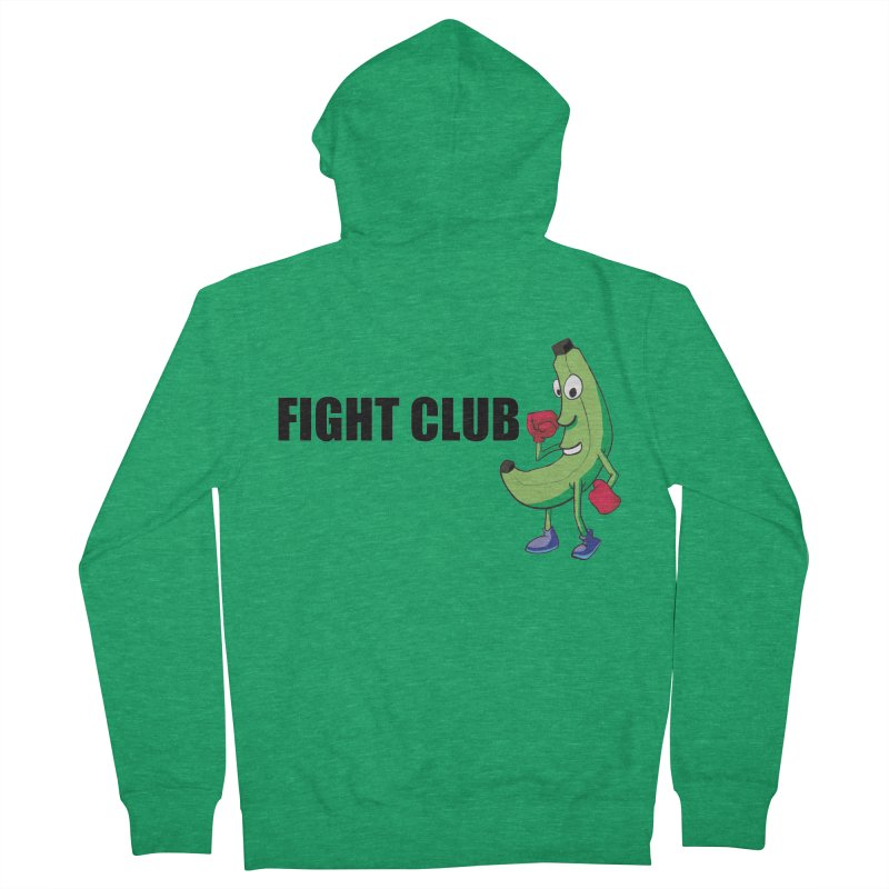 Fruit Fight Men's French Terry Zip-Up Hoody by Castaneda Designs