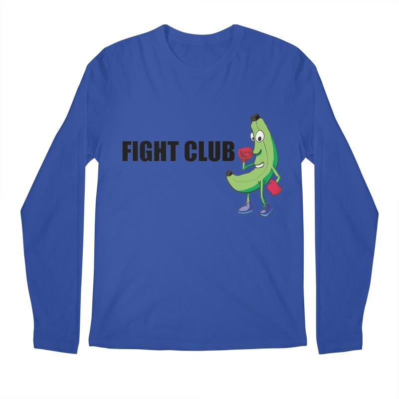 Fruit Fight Men's Regular Longsleeve T-Shirt by Castaneda Designs