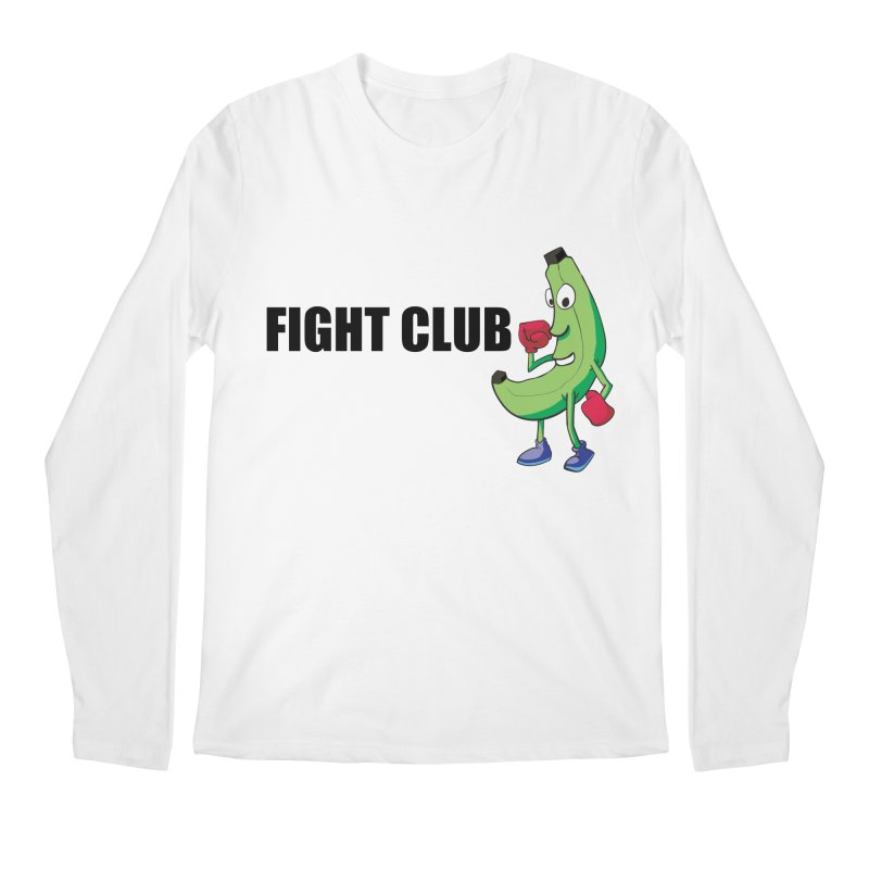 Fruit Fight Men's Regular Longsleeve T-Shirt by Castaneda Designs