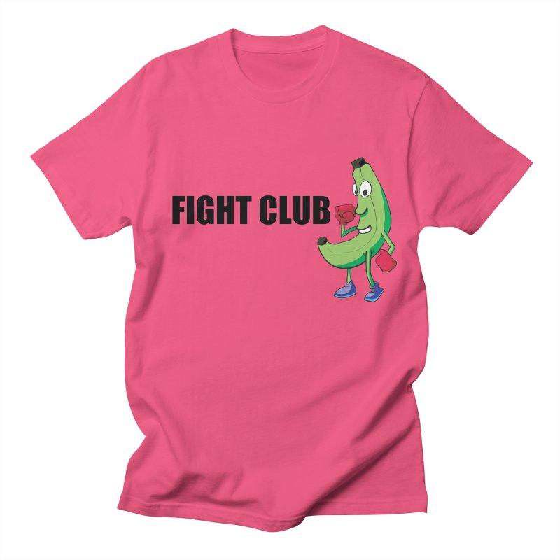 Fruit Fight Men's Regular T-Shirt by Castaneda Designs