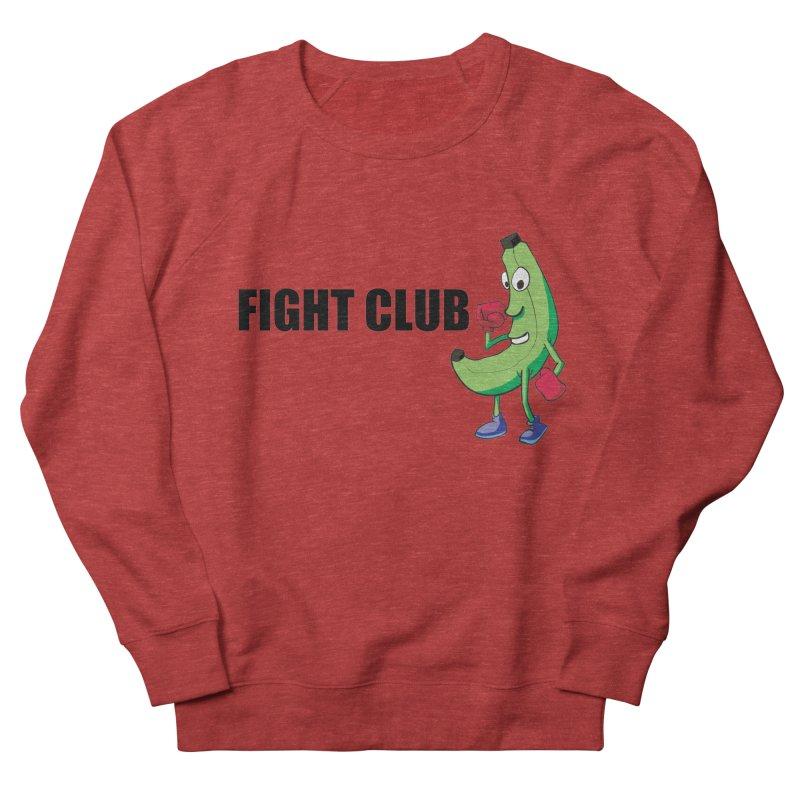 Fruit Fight Women's French Terry Sweatshirt by Castaneda Designs