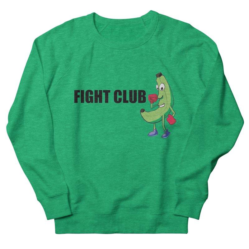 Fruit Fight Men's French Terry Sweatshirt by Castaneda Designs