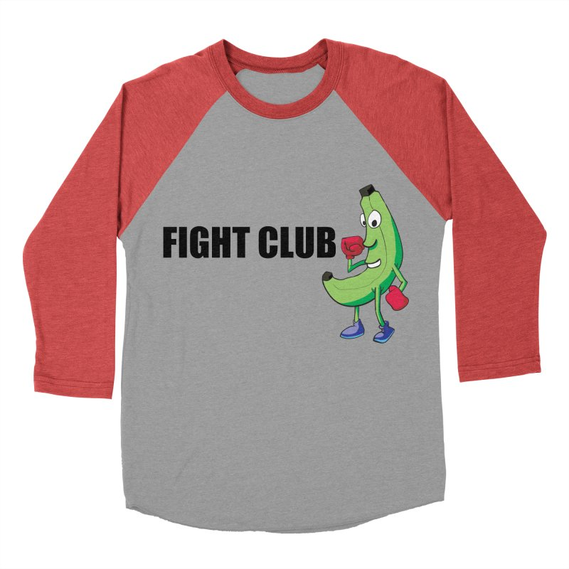 Fruit Fight Men's Baseball Triblend Longsleeve T-Shirt by Castaneda Designs