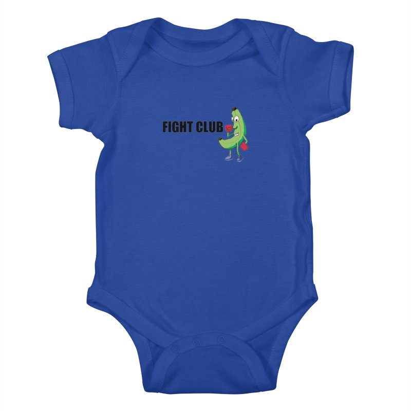 Fruit Fight Kids Baby Bodysuit by Castaneda Designs