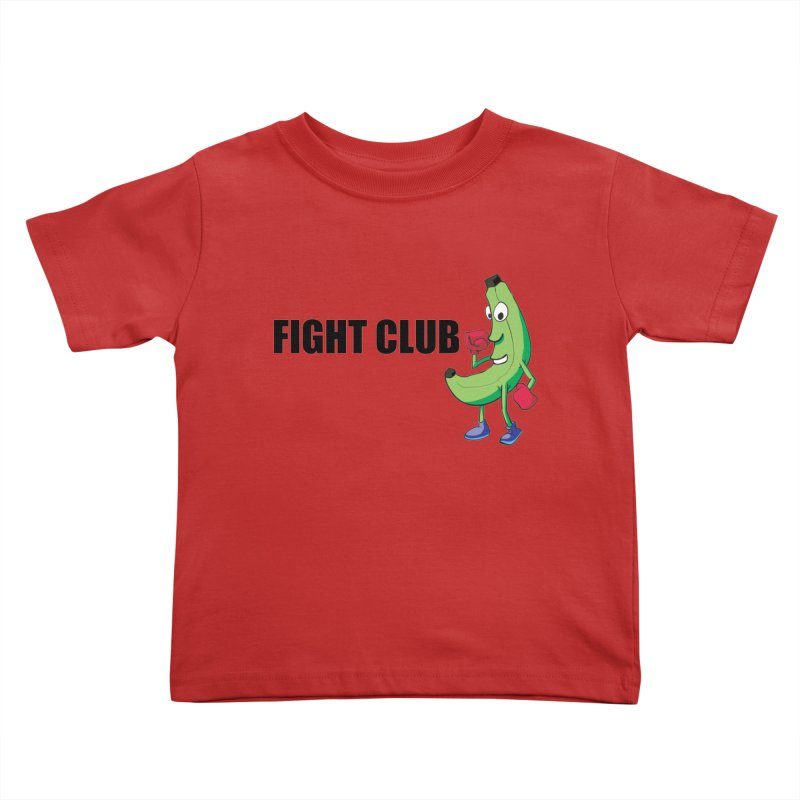 Fruit Fight Kids Toddler T-Shirt by Castaneda Designs