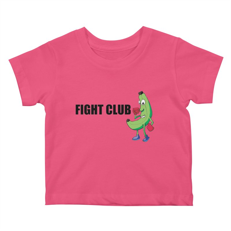 Fruit Fight Kids Baby T-Shirt by Castaneda Designs