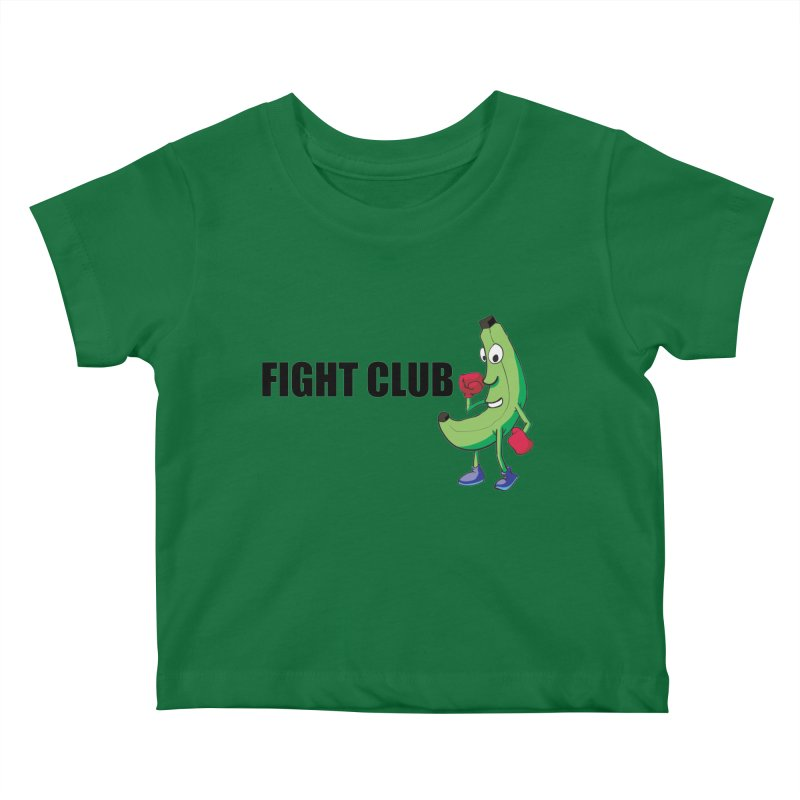 Fruit Fight Kids Baby T-Shirt by Castaneda Designs