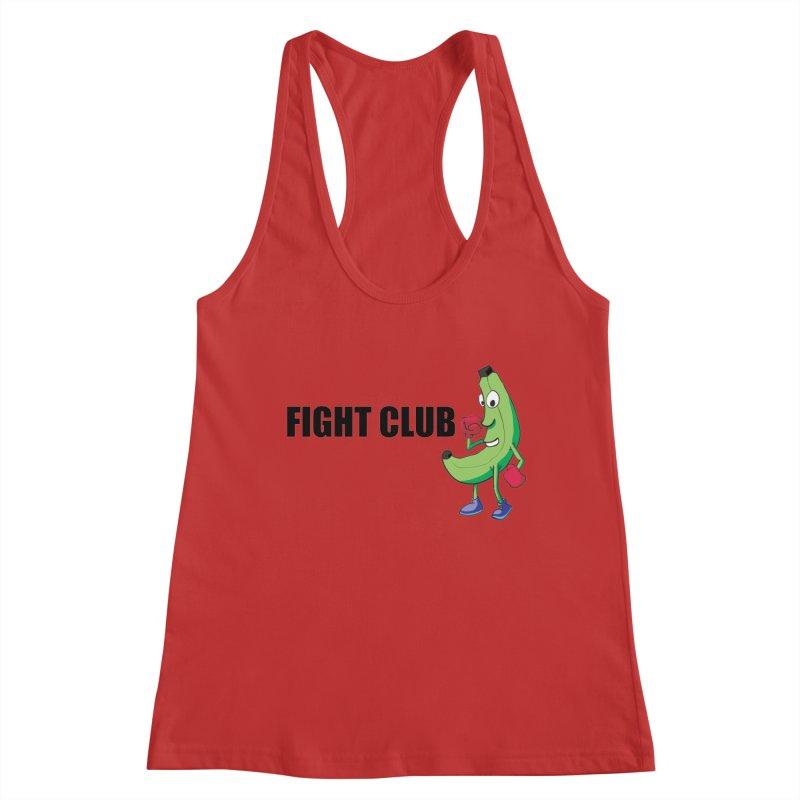 Fruit Fight Women's Racerback Tank by Castaneda Designs