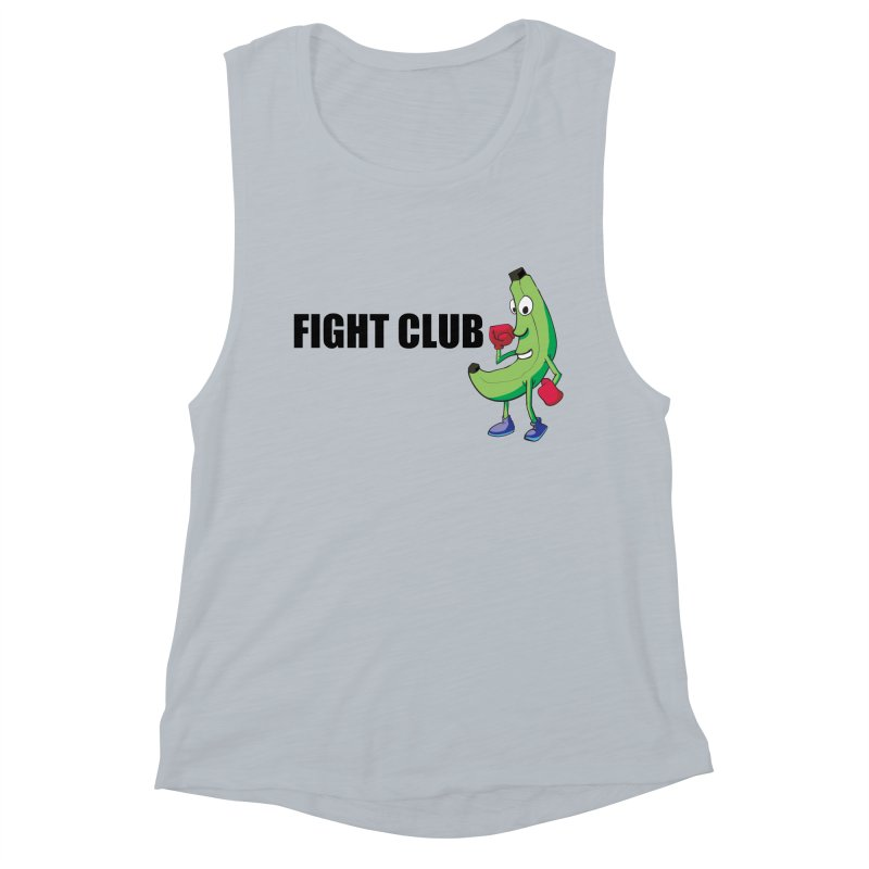 Fruit Fight Women's Muscle Tank by Castaneda Designs