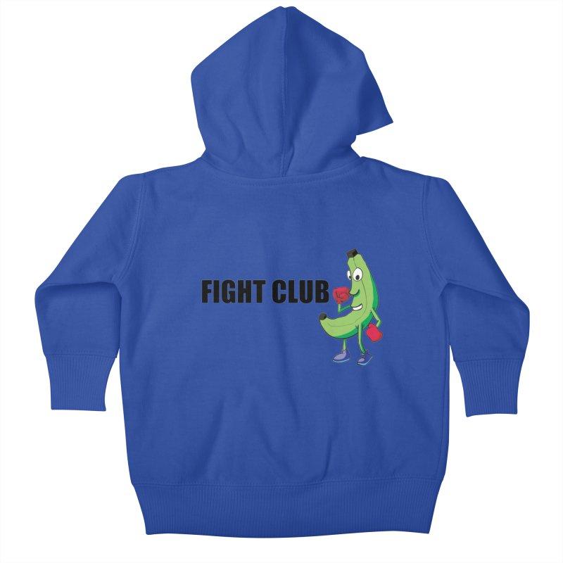 Fruit Fight Kids Baby Zip-Up Hoody by Castaneda Designs