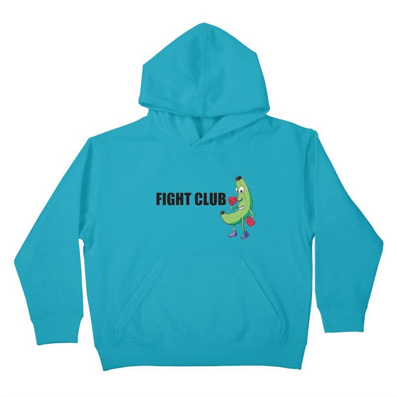 Fruit Fight Kids Pullover Hoody by Castaneda Designs