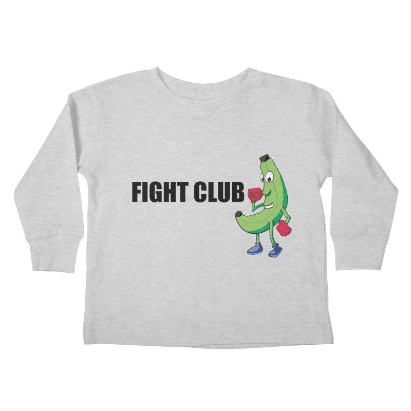 Fruit Fight Kids Toddler Longsleeve T-Shirt by Castaneda Designs