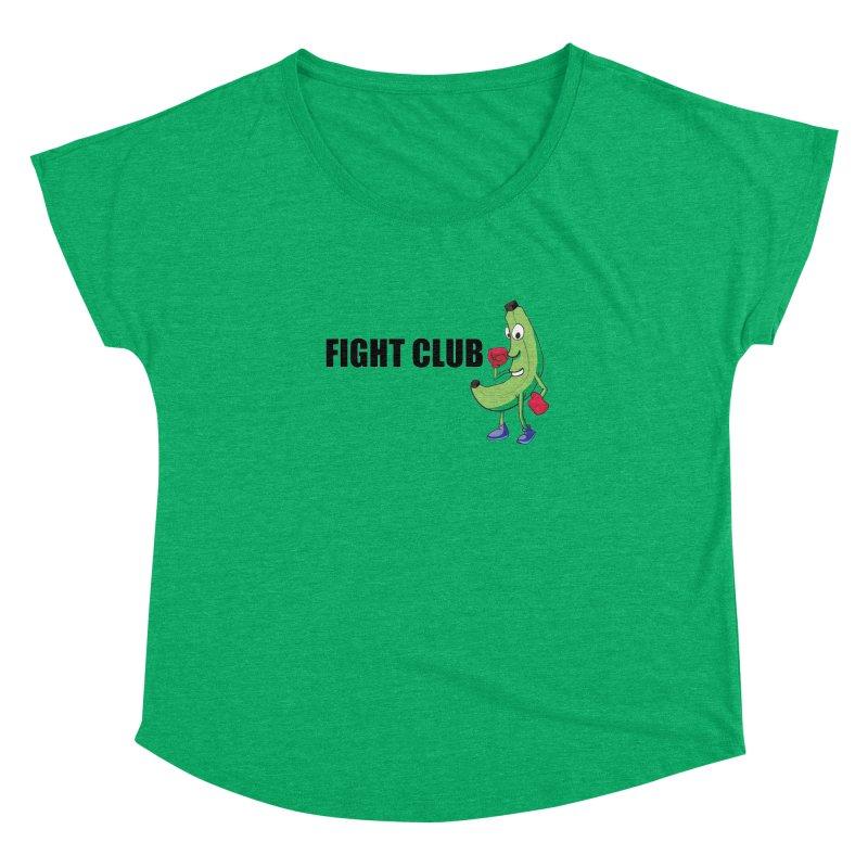 Fruit Fight Women's Dolman Scoop Neck by Castaneda Designs